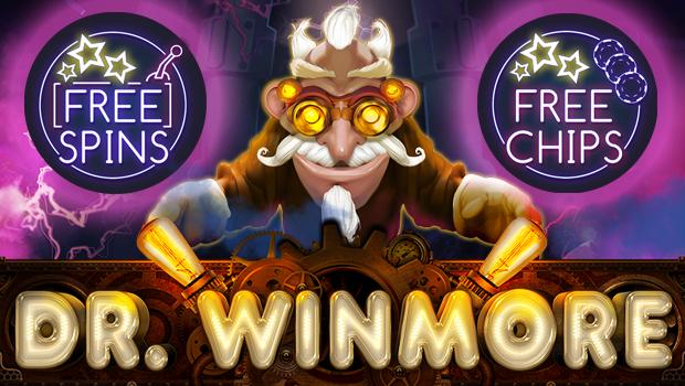 Le casino Intertops va lancer la nouvelle machine à sous Dr Winmore de Reatime Gaming avec une offre de bonus de lancement